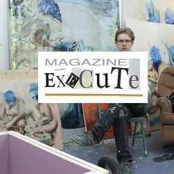 Bartosz Beda in his studio, execute magazine