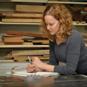 Kristin LeVier : I Love Wood