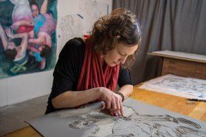 Erin Holscher Almazan, Execute Magazine, 2018, artist, magazine, interview