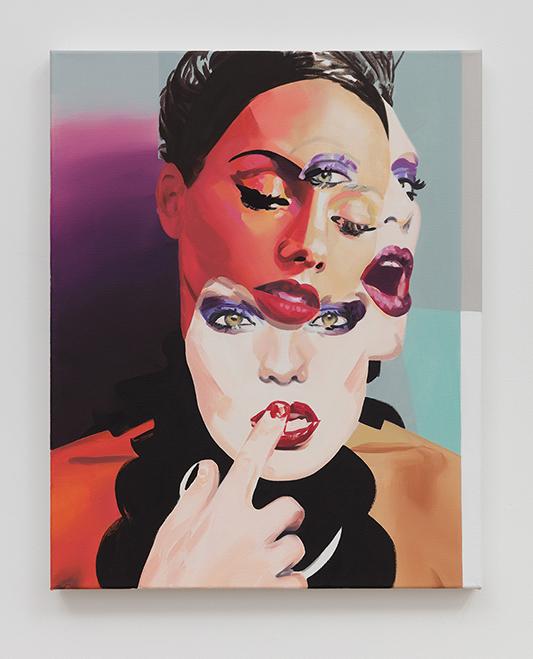 Christiane Lyons, figurative painter, execute magazine