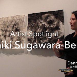 Artist Spotlight Nishiki Sugawara-Beda at Dennos Museum Center Discussing Her Works
